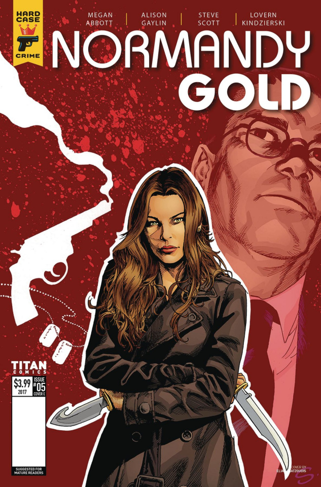 Normandy Gold #5 (Scott Cover)