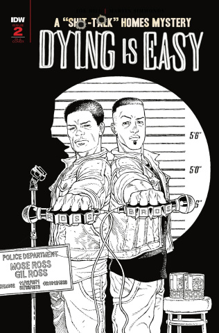 Dying Is Easy #2 (10 Copy B&W Rodriguez Cover)