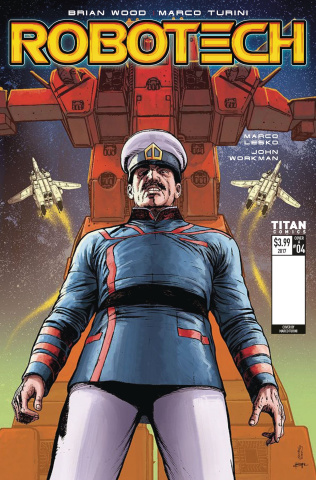 Robotech #4 (Turini Cover)