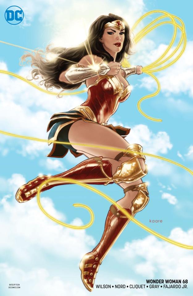 Wonder Woman #68 (Variant Cover)