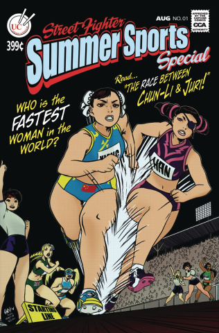 Street Fighter Summer Sports  Special #1 (1:10 Retailer Cover)