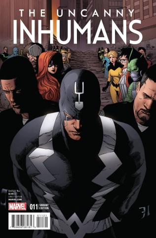 The Uncanny Inhumans #11 (Pham Reenactment Cover)