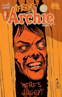 Afterlife With Archie #8 (Francavilla Here's Juggy Cover)