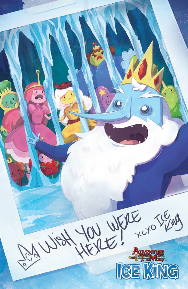 Adventure Time: The Ice King #2 (20 Copy Garland Cover)