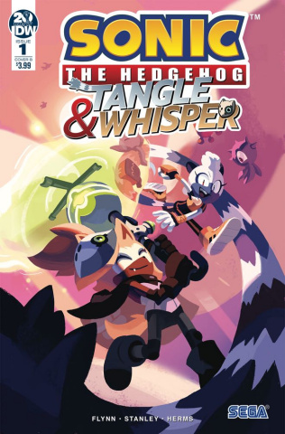 Sonic the Hedgehog: Tangle & Whisper #1 (Fourdraine Cover)