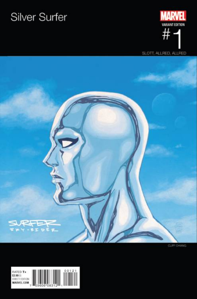 Silver Surfer #1 (Chiang Hip Hop Cover)
