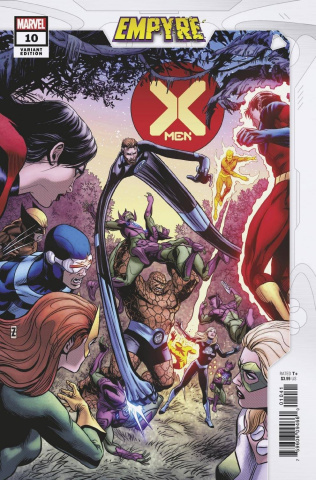 X-Men #10 (Zircher Confrontation Cover)