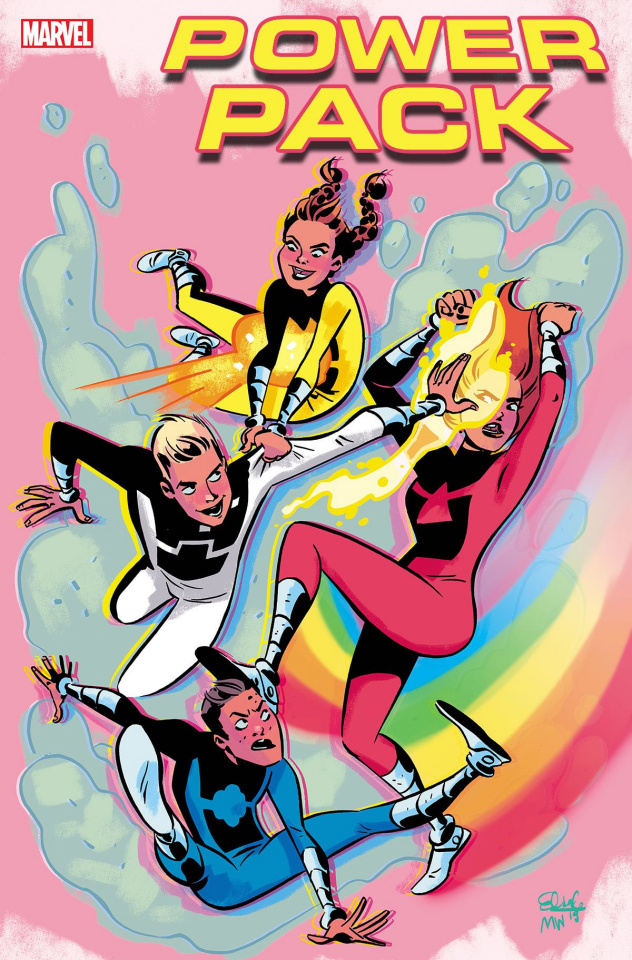 Power Pack: Grow Up #1 (Charretier Cover)