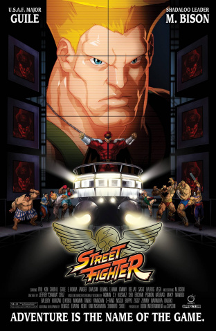 Street Fighter Unlimited #7 (Movie Cover)