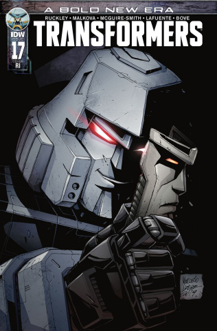 The Transformers #17 (10 Copy Matere Cover)