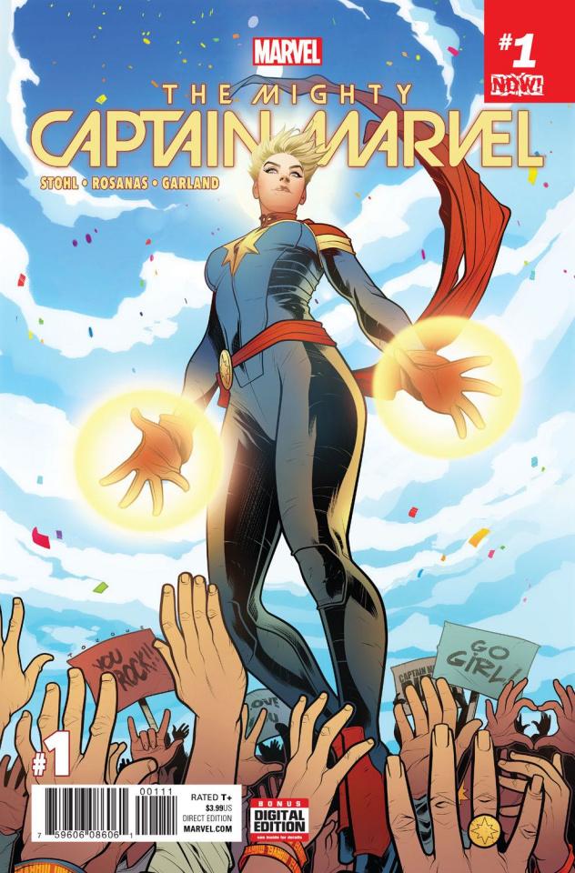 The Mighty Captain Marvel #1