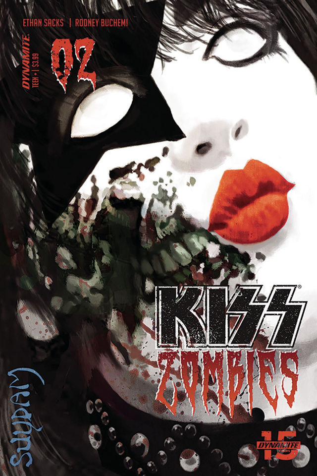 KISS: Zombies #2 (Suydam Cover)