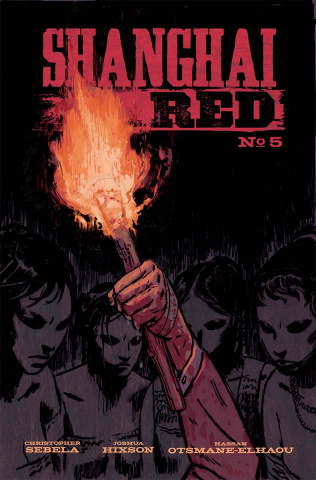 Shanghai Red #5 (Hixson Cover)
