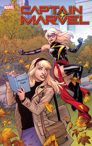Captain Marvel #15 (Lupacchino Gwen Stacy Cover)