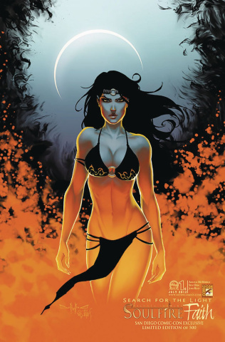 Soulfire: Faith #1 (SDCC 2012 Cover)