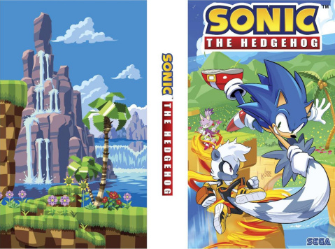 Sonic the Hedgehog #1 - 4 (Box Set)