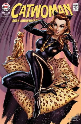 Catwoman 80th Anniversary 100 Page Super Spectacular #1 (1960s J. Scott Campbell Cover)