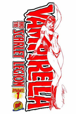Vampirella and the Scarlet Legion #1 (Dynamic Forces)