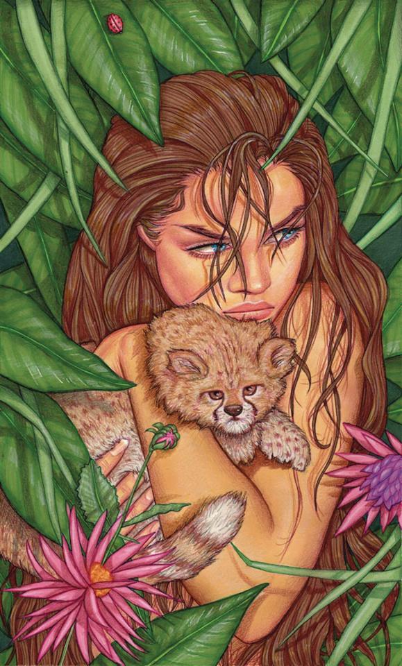 Cavewoman: Markham's Mansion #1 (Valentina Cover)