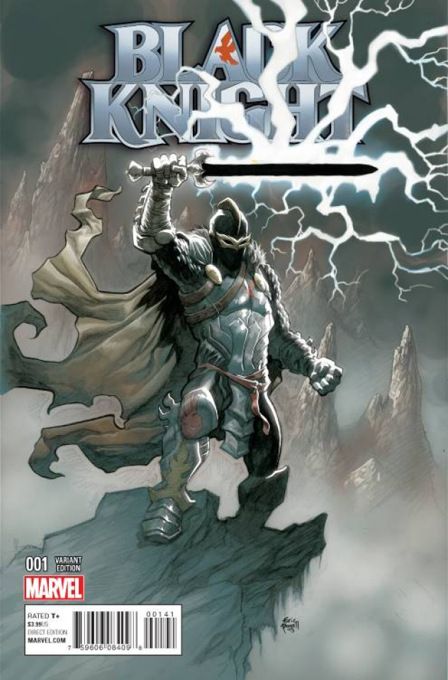 Black Knight #1 (Powell Cover)