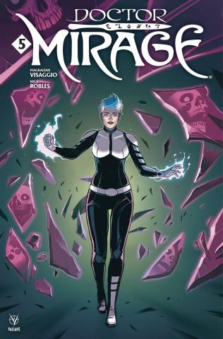 Doctor Mirage #5 (Wijngaard Cover)