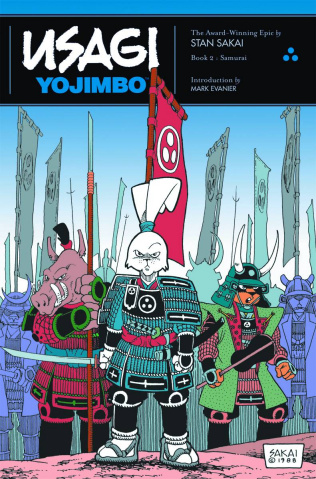 Usagi Yojimbo Book 2: Samurai