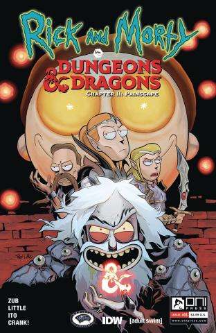 Rick and Morty vs. Dungeons & Dragons II: Painscape #1 (Ito Cover)