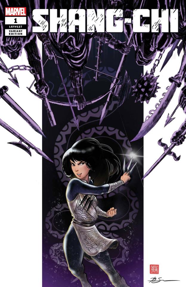 Shang-Chi #1 (Su Cover)