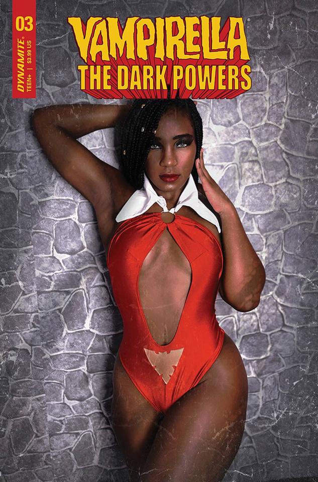 Vampirella: The Dark Powers #3 (Vanta Black Cosplay Cpver)