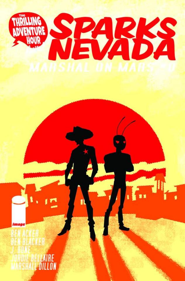 Sparks Nevada: Marshal on Mars #1