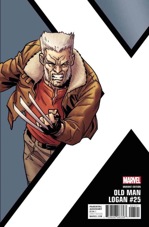Old Man Logan #25 (Kirk Corner Box Cover)