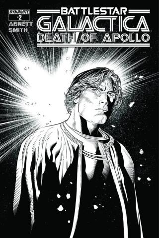 Battlestar Galactica: Death of Apollo #2 (15 Copy Syaf B&W Cover)