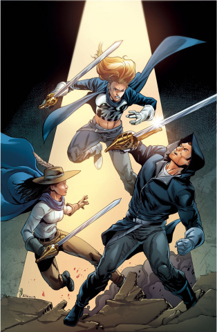Musketeers #4 (Atkins Cover)