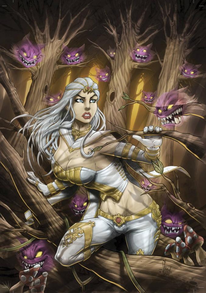 Grimm Fairy Tales: Wonderland #32 (El Tabanas Cover)