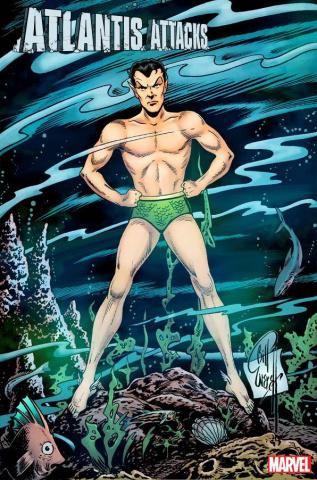 Atlantis Attacks #1 (Everett Hidden Gem Cover)