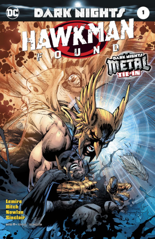 Hawkman Found #1 (Variant Cover)