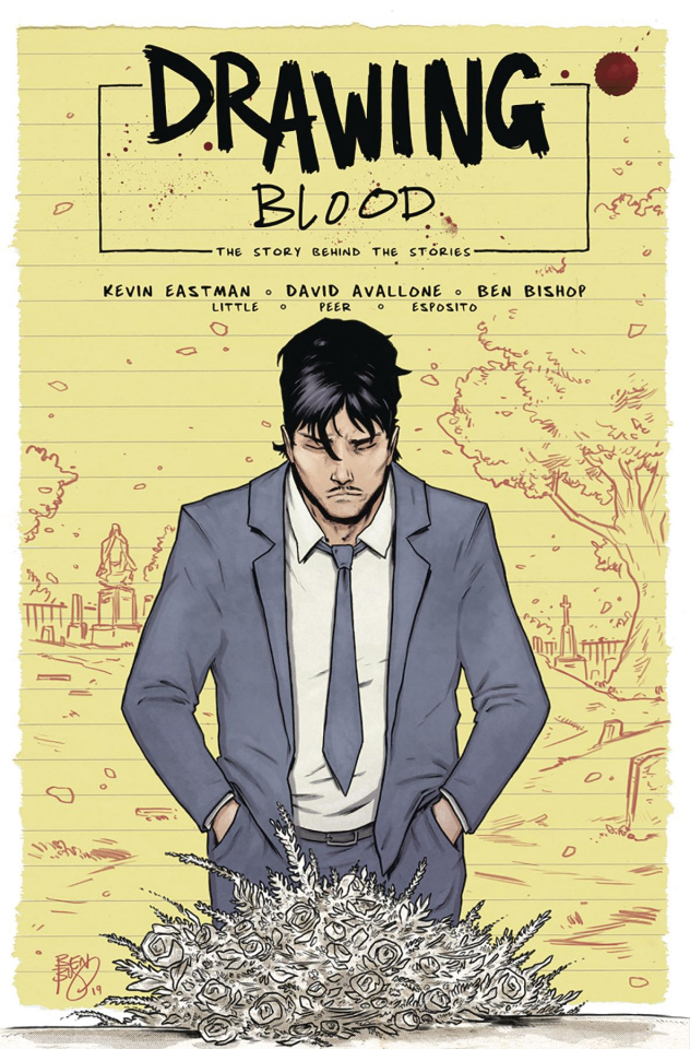 Drawing Blood: Spilled Ink #3 (Bishop Cover)