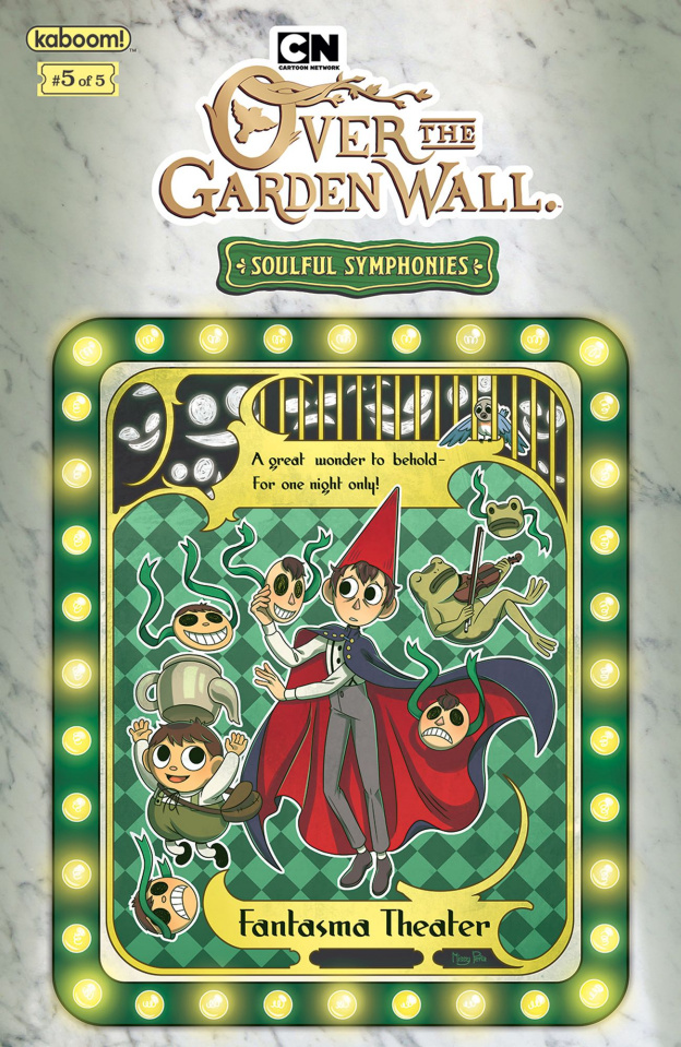 Over the Garden Wall: Soulful Symphonies #5 (Preorder Pena Cover)