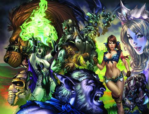 Grimm Fairy Tales: Oz #1 (Basaldua Cover)