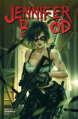 Jennifer Blood #1 (Li Cover)