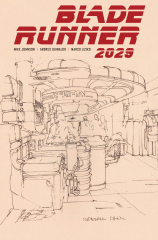 Blade Runner 2029 #9 (Mead Cover)