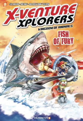 X-Venture Xplorers Vol. 3: Fish of Fury