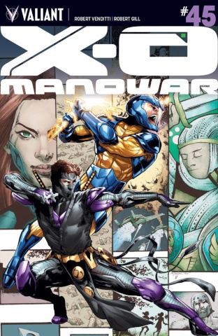 X-O Manowar #45 (Jimenez Cover)