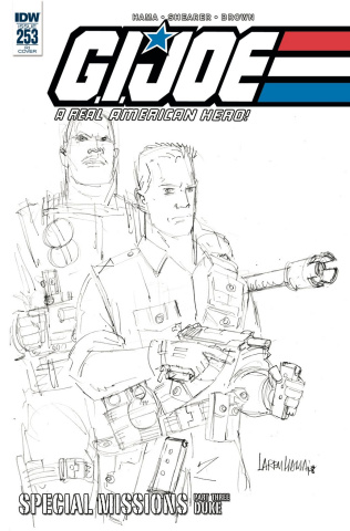 G.I. Joe: A Real American Hero #253 (10 Copy Cover)
