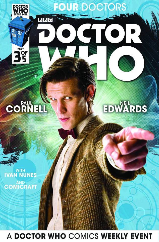 Doctor Who: Four Doctors #3 (Subscription Photo Cover)