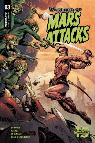 Warlord of Mars Attacks #3 (Morales Cover)