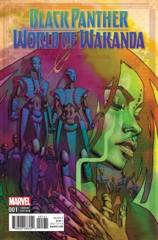Black Panther: World of Wakanda #1 (Stelfreeze Cover)
