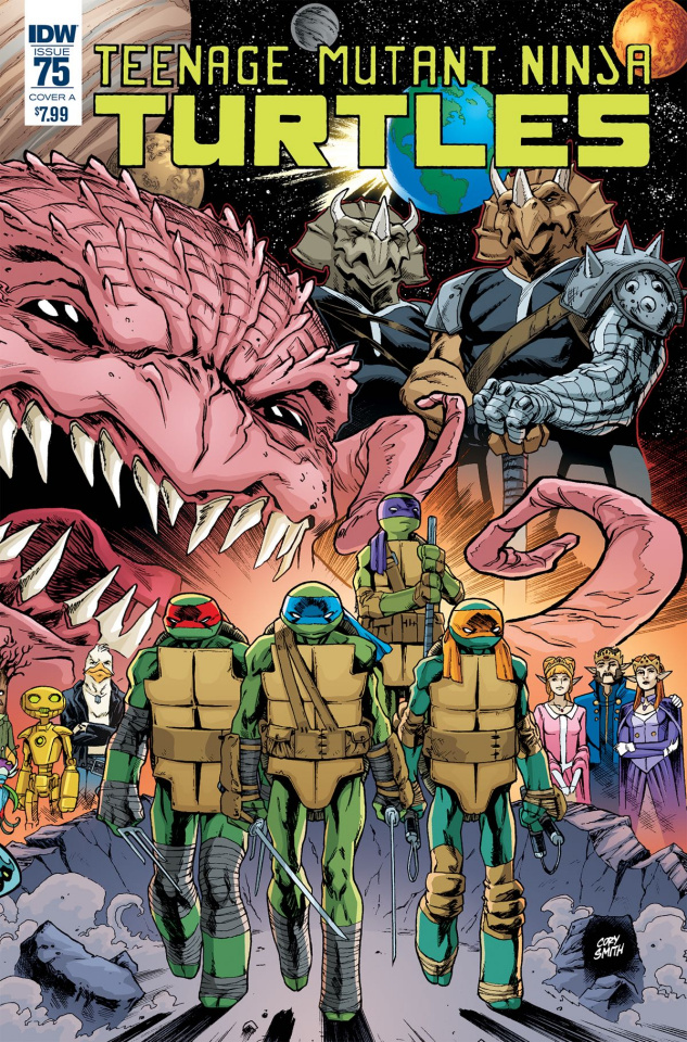 Teenage Mutant Ninja Turtles #75 (Smith Cover)