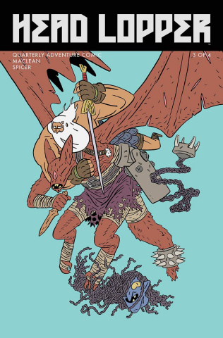 Head Lopper #3 (MacLean Cover)