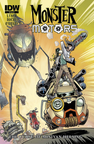 Monster Motors: The Curse of Minivan Helsing #2